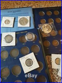 Huge Collection Estate Coin Lot Gold Silver Old Type Coins Morgan DollarsW@W