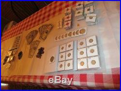 Huge Silver And Gold Coin & Currency Collection