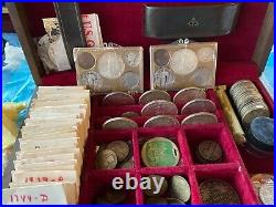 Huge coin collection lot