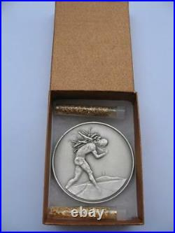 Issachar From The 12 Tribes Of Israel Salvador Dali Pure Silver 3-oz. Coin+gold