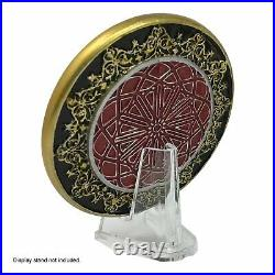 John Wick 3 Arabic Blood Oath Marker Set Life Size Prop Replica + 4 Gold Coins