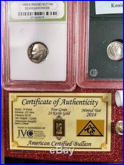 Junk Drawer LOT silver, gold, unicorns, pandas, coins
