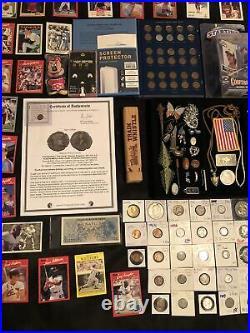 Junk Drawer Lot Canada 125 Coin Set Silver Morgan Walking Liberty Coins Gold