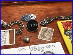 Junk Drawer Silver, Gold, Jewelry, Coins and Collectibles Lot