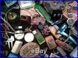 Junk Drawer Vintage To New Silver Gold Coins Knives Lighters