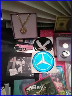 Junk drawer lot sterling jewelry, 90% US silver coins, gold and platnium plate