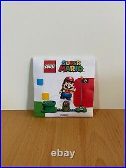 LEGO Nintendo Super Mario Limited Edition Gold Coin Promo Collectible NEW RARE
