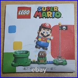 LEGO SUPER MARIO COLLECTIBLE COIN GOLD COLOR Very Rare NEW