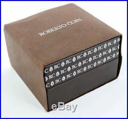 Ladies Roberto Coin Cento Collection 18K White Gold Italy Heart Diamond Necklace