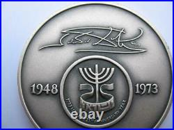 Levi From The 12 Tribes Of Israel Salvador Dali Pure Silver 3-oz. Coin+gold