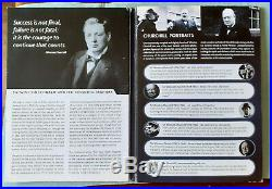London Mint WINSTON CHURCHILL Inspiration To A Nation coin set 24ct Gold Coin