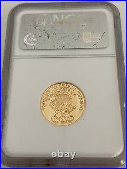 Look $5 Gold 1988-w, Olympics U. S. Vault Collection Liberty Ngc Pf 70 U. C