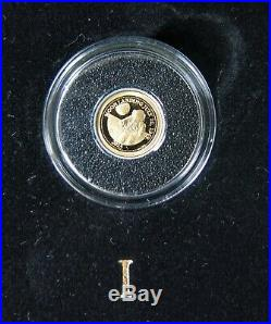 Macquarie Mint 2012 Smallest 7 Gold Coins of the World Collection with Bonus Coin