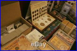Massive Estate Sale Coin Collection SILVER, GOLD, PAPER, SETS, STAMPS, COINS
