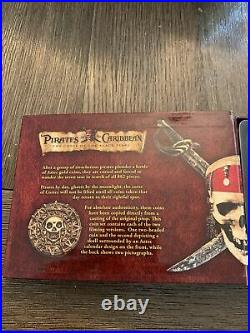 Master Replicas Pirates of the Caribbean Cursed Aztec Gold Coin Set