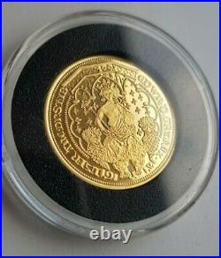 Millionaires Collection King Edward III Double Leopard 22ct Gold coin 4.05 grams