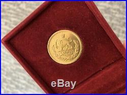 Mohamad Reza Shah Pahlavi 2.5 Gold Coin Orginal 22k