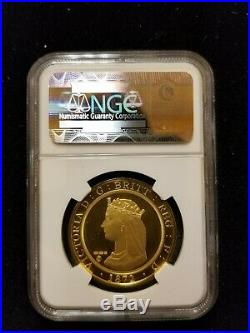 NGC GemPRUC 1872 Struck 2012 London & The Lion Smithsonian Collection 1ozt Gold
