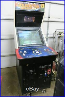 Nice Dedicated Golden Tee Complete Commercial Coin Operated Arcade Game
