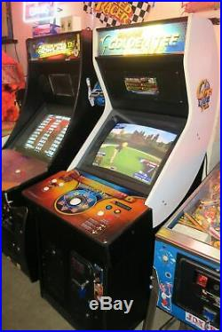 Nice Dedicated Golden Tee Live 2013 Commercial Coin Operated Arcade Game