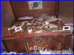 Old Estate Us Coin Lot Sale Gold Silver Currency Sale Hoard Collection Treasure