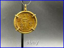 Old Indo Greek Gold Coin Pendants
