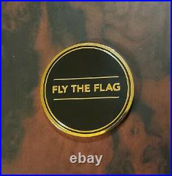 PETE'S PIRATE LIFE V1 18K Gold Plated Coin Peter McKinnon Fly SOLD OUT & RARE