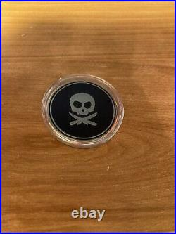 PETE'S PIRATE LIFE V1 18K Gold Plated Coin Peter McKinnon Used SOLD OUT RARE