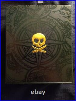 Pete's Pirate Life V3 coin with aluminum case & 24k gold plated pirate screws