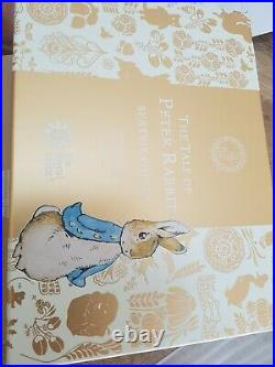 Peter Rabbit 22ct Gold coin and book set 2017 new boxed limited edition