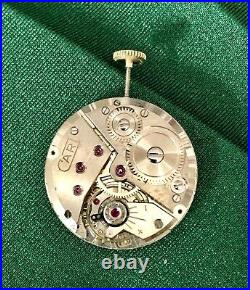 Pocket Coin Watch ROBERT CART Gold Plated 10 Microns TO BE RESTORED One FRANC /