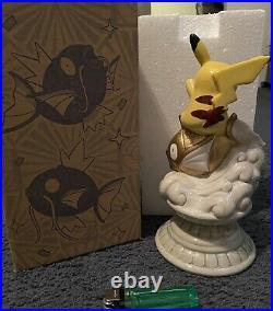 Pokemon Center Pikachu & Gold Magikarp Coin Bank Nagoya Opening Memorial LTD JPN