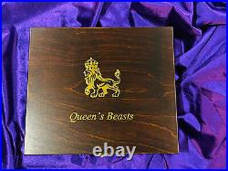 Queens Beasts 1/4 Oz Gold Bullion complete collection