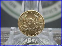 Random Date $5 Gold American Eagle 1/10th oz East Coast Coin & Collectables, Inc