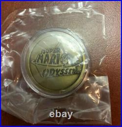 Rare Nintendo Super Mario Odyssey Gold Coin Collectible Promo