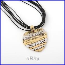 Roberto Coin 18K Gold & Diamond Heart Elephantina Collection