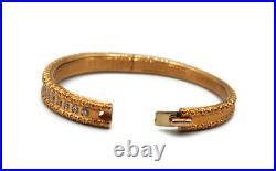Roberto Coin 18k Multicolor gold Diamond Accent Cento Collection Bangles Set