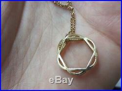 Roberto Coin BAROCCO COLLECTION 18KT Rose Gold Necklace & Pendant 18