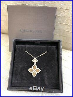 Roberto Coin Princess Flower Collection Gold Necklace