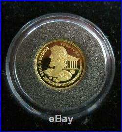 Royal Mint 1/20 oz. 999 Fine Gold Miniature Proof Collection Multi Listing 1.24g