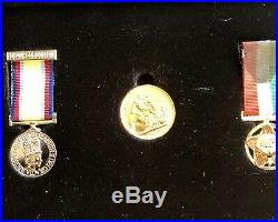 SCARCE Behind Enemy Lines Gulf War Collection Unique Full Gold Sovereign Medals