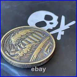 SOLD OUT Petes Pirate Life Sink/Swim Brass EDC Coin