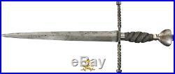 SPANISH OR ITALIAN DAGGER 1700's SWORD KNIFE PIRATE GOLD COINS ANTIQUE WEAPONRY