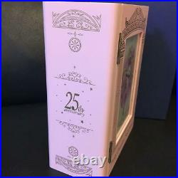 Sailor Moon 25th Anniversary Official Gold Coin Music Box Set 2000 Limited rare