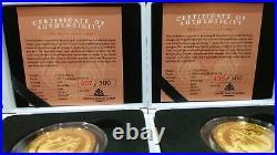 Scottsdale Mint Alpha & Omega Jesus Collection 1oz Gold 2021 Samoa