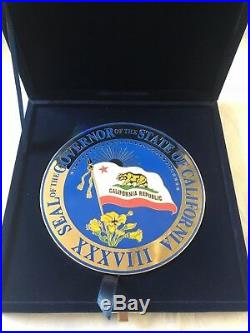 Seal of the Governor of CA Arnold Schwarzenegger 159/200 Serialized 5.5 Coin