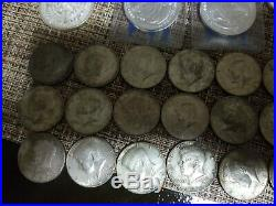Silver coin and bars collection lot