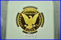 Smithsonian Collection 1878-2018 Gold 1/2 Oz Morgan's Eagle Design Ngc Pf70 Dcam