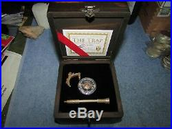 TRAP WITH THE GOLDEN BAIT Roman Booteen Silver Morgan Dollar 2 Peso Gold Coin