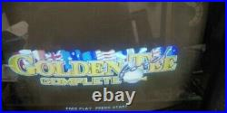 Tested Working Vintage Its Golden Tee Complete Pcb & Hd From Coin-op Arcade Game
